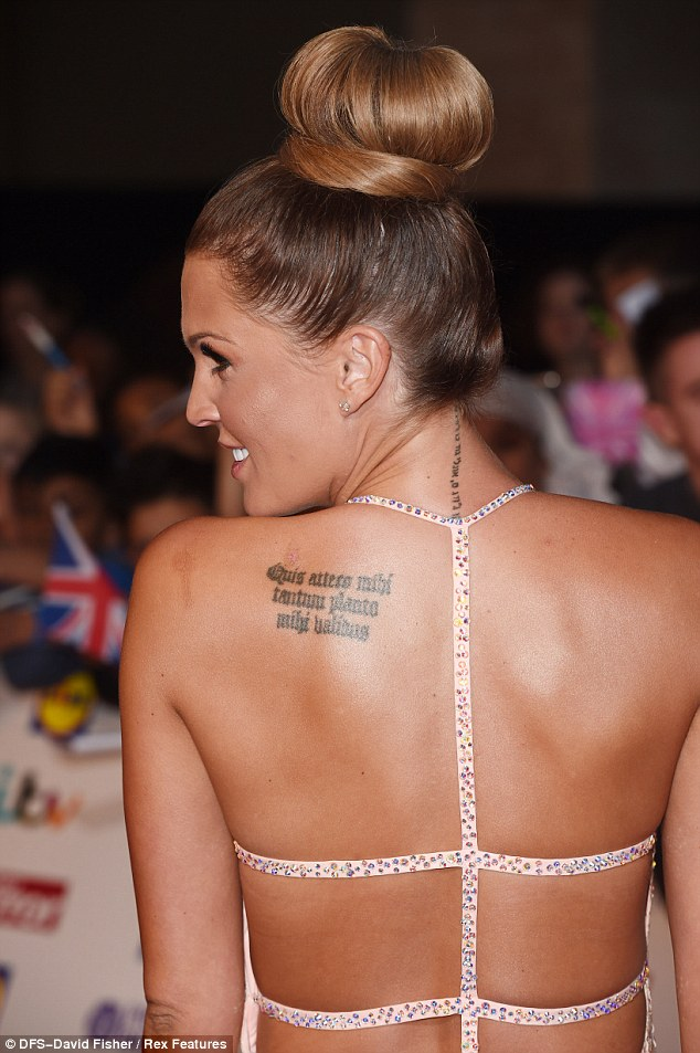 Sexy Back Tattoo Famouse Model