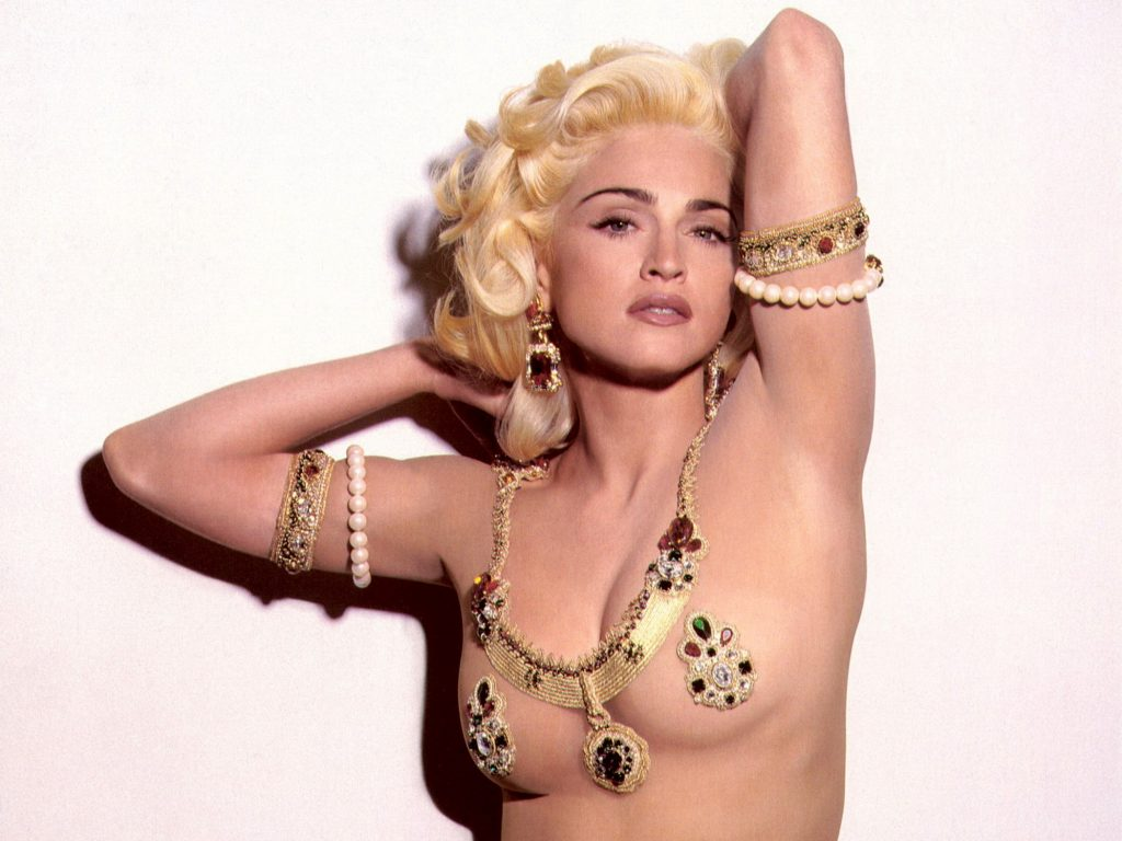 Madonna Sexy Eternal Blonde
