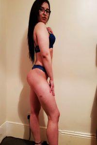 Aisha Curvy Escort Brunette